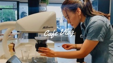 Working at a Fancy Brunch Cafe in Melbourne Vlog [01]