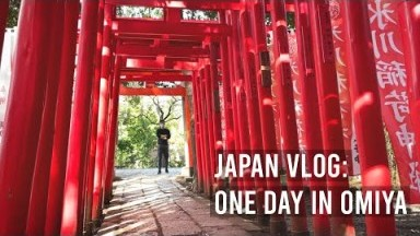 Japan Vlog: Day in Omiya, Japanese Traditional Sweets, Temple Visit