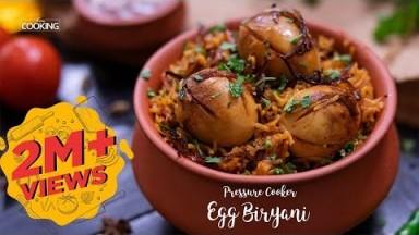 Pressure Cooker Egg Biryani | Biryani Recipe  | Ramadan Recipes | Egg Biryani | Home Cooking Show