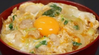 Oyakodon Recipe (Chicken and Egg Bowl)   Cooking with Dog