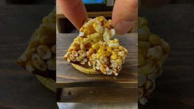 Miniature Real Cooking Recipe | ASMR Puffed Rice & Pop Rice Mini Food | Mini Kitchen #Shorts