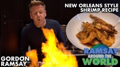 Gordon Ramsay's Easy New Orleans Style BBQ Shrimp Recipe | Ramsay Around the World