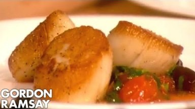 How to Cook Perfect Scallops (Part 2) | Gordon Ramsay