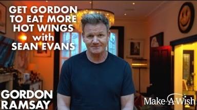 Gordon Ramsay Announcement featuring Hot Wings & Sean Evans