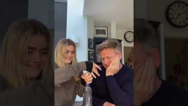 Gordon Ramsay Gets Egged by Tilly