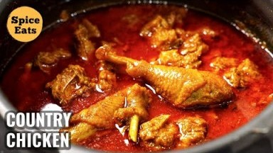 COUNTRY CHICKEN CURRY VILLAGE STYLE | DESI CHICKEN GRAVY | DESI CHICKEN VILLAGE STYLE