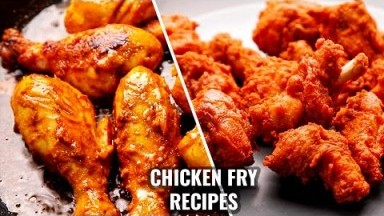 CHICKEN FRY 2 WAYS | SIMPLE AND TASTY CHICKEN FRY | CHICKEN FRY RECIPES