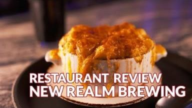 Restaurant Review - New Realm Brewing   Atlanta Eats