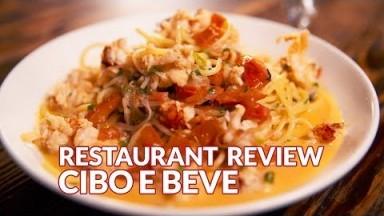 Restaurant Review - Cibo e Beve | Atlanta Eats