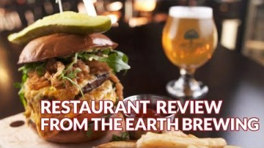 Restaurant Review - From the Earth Brewing Company | Atlanta Eats