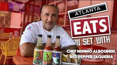 On Set With - Chef Mimmo Alboumeh, Red Pepper Taqueria | Atlanta Eats