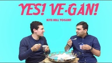 Yes! Ve-Gan! - Kite Hill Yogurt | Atlanta Eats