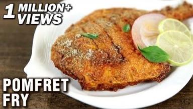 Pomfret Fry Recipe   Fish Fry Indian Style   Fish Recipes   Fish Fry Recipe by Varun Inamdar