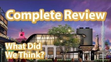 Universal Orlando's New Dining Experience - Big Fire Restaurant | Full and Complete Review