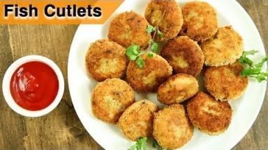 How To Make Fish Cutlets   Fish Cutlets Restaurant Style Recipe   Fish Recipes   Varun Inamdar