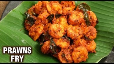 Prawns Fry   Street Style Shrimps Fry   How To Make Fried Prawns   Seafood Recipe   Tarika