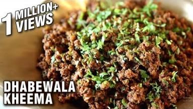 Dhabewala Kheema Recipe - How To Make Mutton Keema At Home - Mutton Recipe - Smita Deo