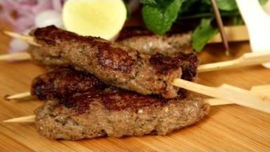 Mutton Seekh Kebab   Kebabs on Skewers – Easy Recipe   The Bombay Chef – Varun Inamdar