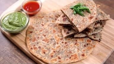Keema Paratha Recipe | Indian Flatbread Stuffed With Minced Meat | The Bombay Chef - Varun Inamdar