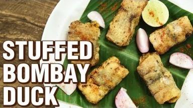 Stuffed Bombay Duck   How To Make Stuffed Bombil   Fish Recipe   Indian Culinary League   Varun