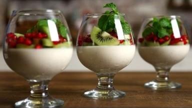 Panna Cotta Recipe | Italian Pudding Recipe  | The Bombay Chef - Varun Inamdar