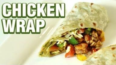 Chicken Wraps Recipe | How to Make Chicken Wraps | Chicken Recipe | Quick And Easy | Smita Deo