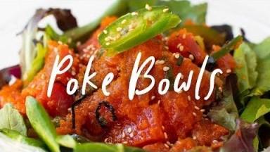 FRESHEST POKE in LA! Restaurant Review | HONEYSUCKLE