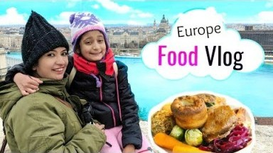 EUROPE Food Vlog   #Budapest #Vienna #Prague #MyMissAnand #NishaTries #CookWithNisha