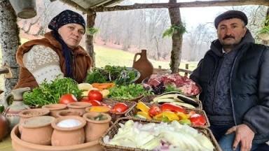 Mal Ətindən Dümləmə, Outdoor Cooking, Organic Food