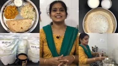 Sunday Cooking Vlog/Chole Masala/Veg Rice/Chappathi/Curd Rice/Appam