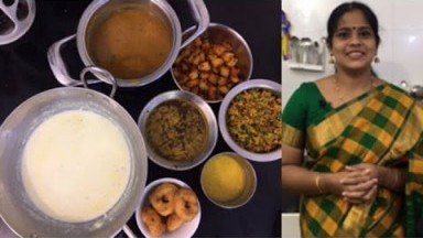 Navarathri  Friday cooking Vlog/Pal payasam/Vendaikkai Sambar/Vadai/Usili/Potato Fry