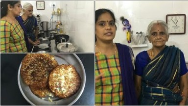 Cooking Vlog with my Mom/Thavalai Dosai/Thavalai Adai