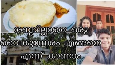 ശബ്ദമില്ലാതെ ഒരു വൈകുന്നേരം ഇങ്ങനെ Evening  Cooking Vlog Malayalam