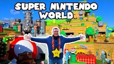 SUPER NINTENDO WORLD: Ultimate FULL PARK TOUR Vlog