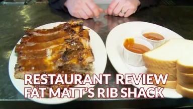 Restaurant Review - Fat Matt's Rib Shack | Atlanta Eats