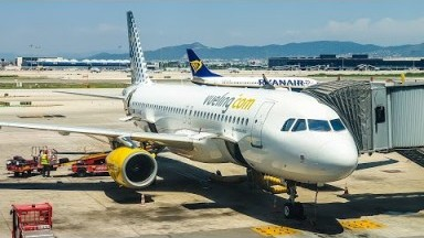 Review: Vueling Airbus A320 | Vienna - Barcelona | Economy Class | TRIP REPORT