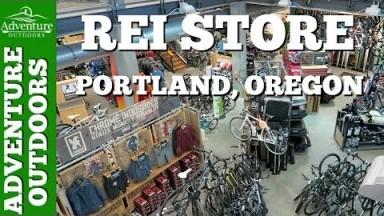 Adventure Travel ~ REI Store Tour ~ Portland, Oregon