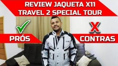 REVIEW DA JAQUETA X11 TRAVEL 2 SPECIAL TOUR APÓS VIAGEM #DIEGOCM
