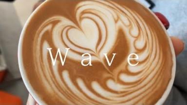 I practiced Wave Heart Latte Art for a few days, Barista Joy, Home Cafe