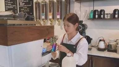 REAL* Australia Barista life, Cafe vlog, Latte art, Work at cafe with me !