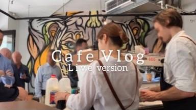 (Live)Korean barista working at cafe in Australia, Cafe vlog, Coffee shop background noise, ASMR