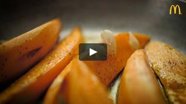McDonald's – COOKING & RECIPE VIDEO – Sweet potatoes