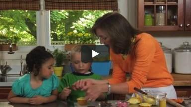 Make Ming Ming Cupcakes - Nick Jr. Cooking with Kids Recipe Video