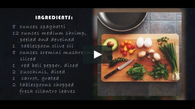 Recipe and Cooking Templates After Effects Templates