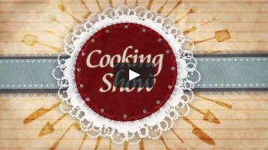 Cooking Show Broadcast graphics