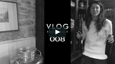 VLOG from ITALY 008: Back in the Kitchen, Cooking Classes & Bottling Wine