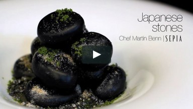 Sepia Restaurant and Wine Bar: Japanese Stones
