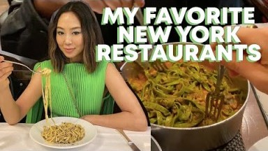 Aimee Song's Top NYC Restaurants | New York City Dining Guide | Song of Style