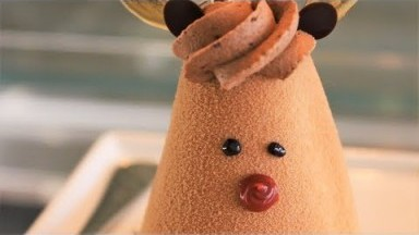 【Sixth Course】Holiday Desserts: Santa's Little Helper & Igloo   Dessert Vlog
