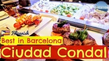 BEST RESTAURANT & FILIPINO OFWs in BARCELONA CIUDAD CONDAL | Boqueria Food Guide